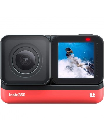 Insta360 ONE R 360 Edition – 5.7K 360 Degree Camera with Stabilization, IPX8 Waterproof, Invisible Selfie Stick Effect, Touch Screen, AI Editing